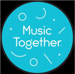 Music Together Teal Magnet